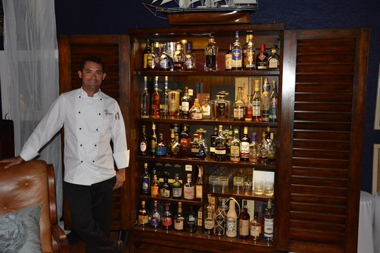 Kaibo - Upstairs Restaurant : Rare Rum Collection with Wilmers