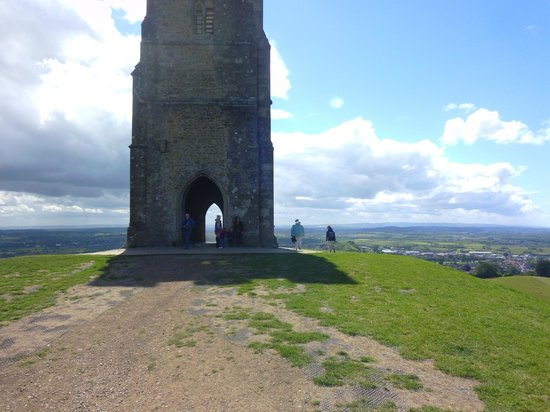 Glastonbury Tor: Part of the Tor Tower