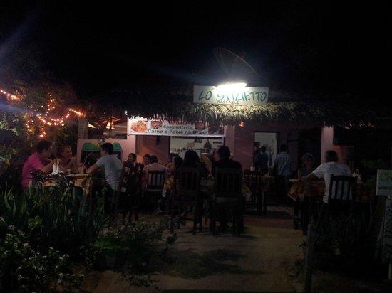 Lo Sfizietto: Noite de sábado no restaurante