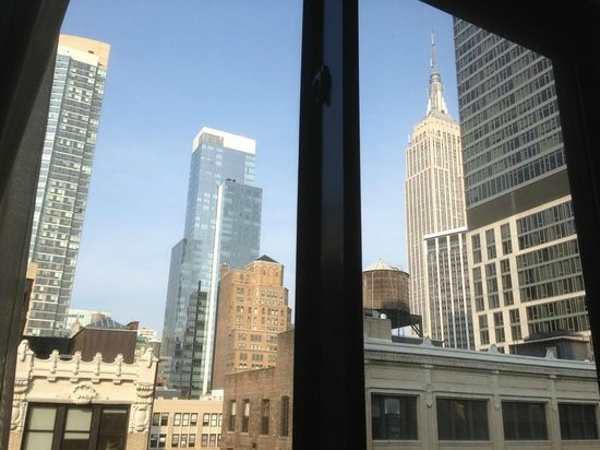 Doubletree Hotel Chelsea - New York City: View from room - 17th floor
