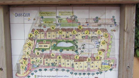 Muthu Grangefield Oasis Club: complex map