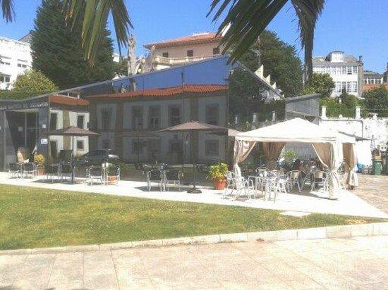 Club Náutico: La fachada del restaurante