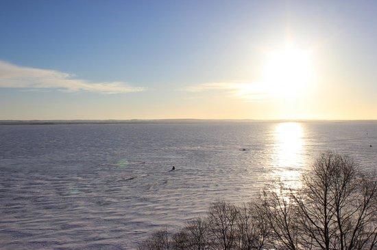 Yakovlevsky Savior Monastery: Вид на озеро