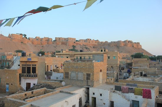 Mystic Jaisalmer Hotel: the rooftop view