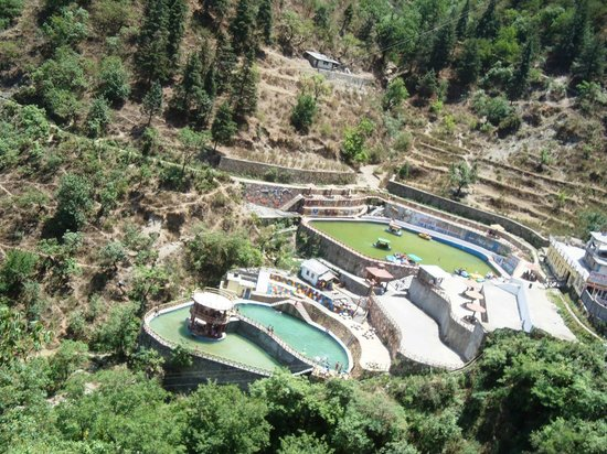 Kempty Falls: Kempty falss adjecent pools