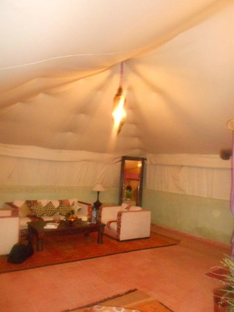 Kasbah Agafay: tente berbere