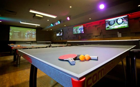 Table tennis at rileys sports bar picture of rileys sports bar table tennis at rileys sports bar watchthetrailerfo