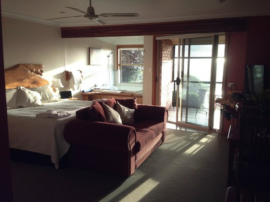 Artisan Spa Views Bed & Breakfast: Amazing room