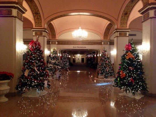 Omni Shoreham Hotel: So pretty for Christmas!