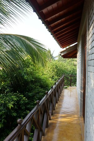 Mangrove Beach Cabanas & Chalets : We had a wrap around balcony