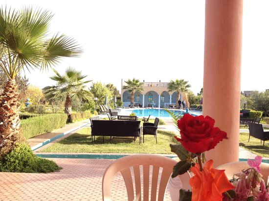 Riad Qodwa : View from the breakfast table