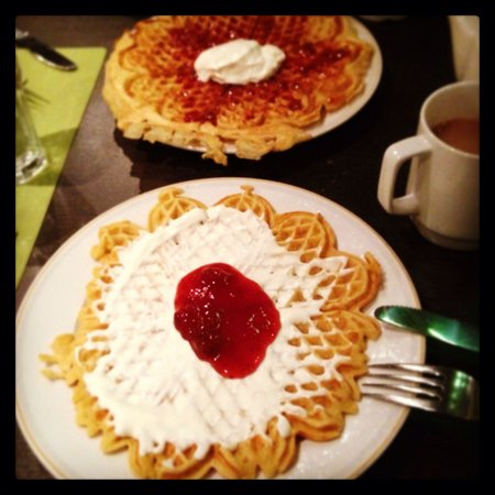 Clarion Collection Hotel With: Waffle time!!