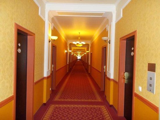 Danubius Grand Hotel Margitsziget : Коридор