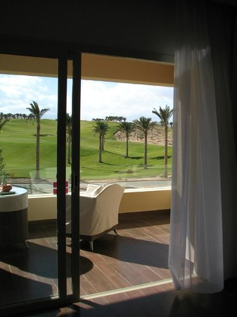 Steigenberger Makadi : Golf view balcony