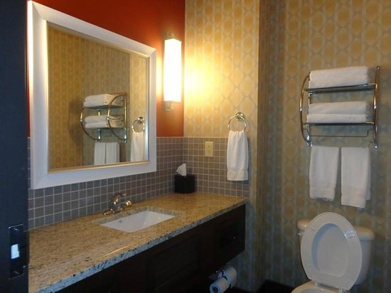 Holiday Inn Express & Suites Fulton : bathroom