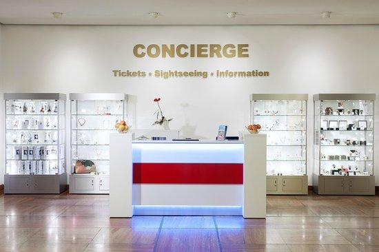 NH Berlin Mitte: Concierge