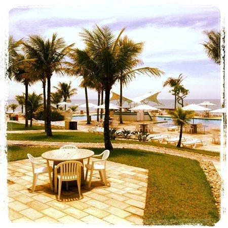 Plaza Itapema Resort & Spa : Vista esplêndida!
