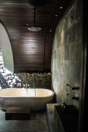 Alila Ubud: Outdoor bathroom
