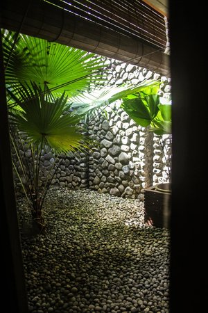 Alila Ubud: view from the outdoor shower