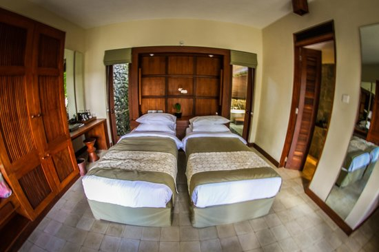 Alila Ubud: Deluxe Room twin beds