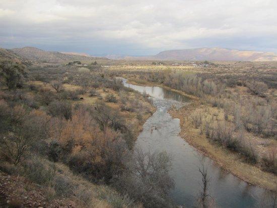 Verde Canyon Railroad : Views of the canyon below