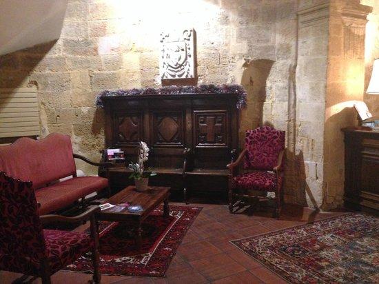 Hotel des Augustins: LOBİ