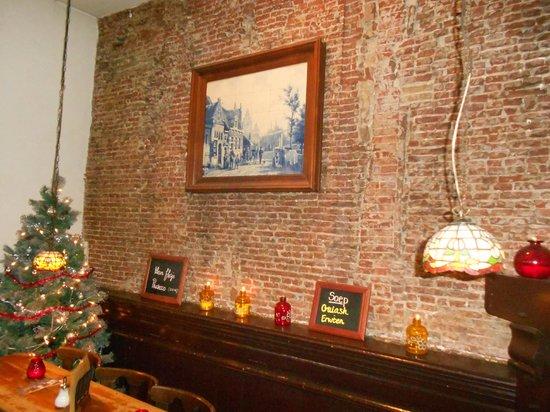 Cafe de Doelen: Interior wall