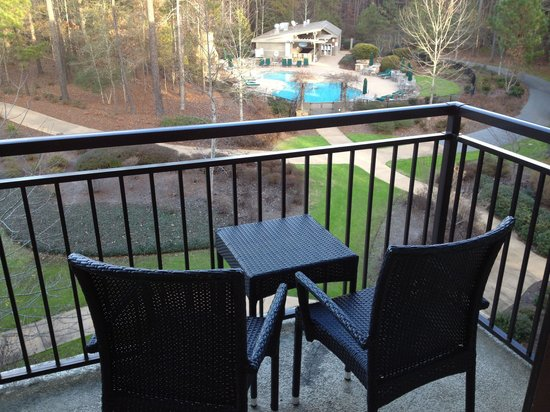 The Lodge and Spa at Callaway Gardens: Balcony View