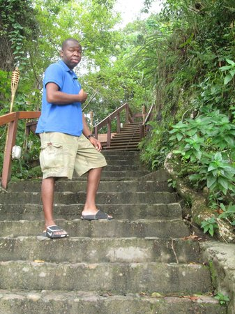 Ti Kaye Resort & Spa : The stairs