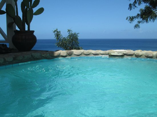 Ti Kaye Resort & Spa : View from plunge pool