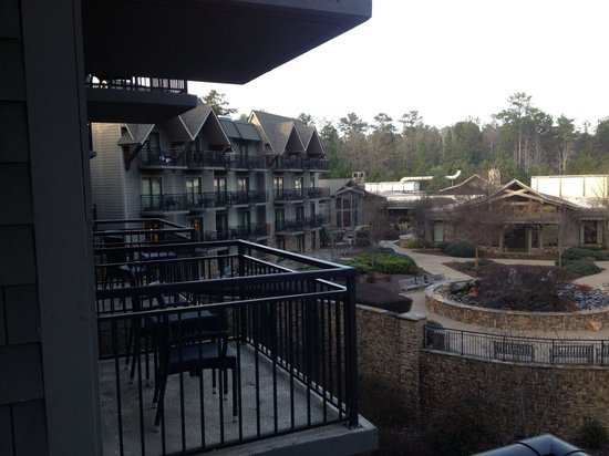 View From Balcony Picture Of The Lodge And Spa At