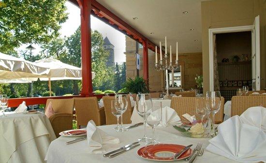 Mittermeier Restaurant & Hotel: Terrasse