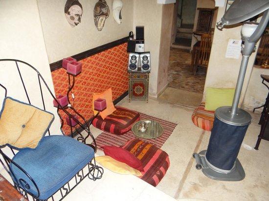 Riad Sidi Mimoune : Un petit coin thé détente