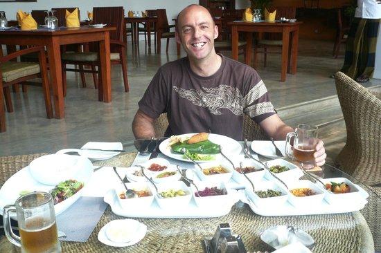 Aditya: curry and rice