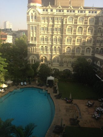 The Taj Mahal Palace: The view from room