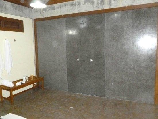 Pagua Bay House Oceanfront Cabanas: Salle de bain