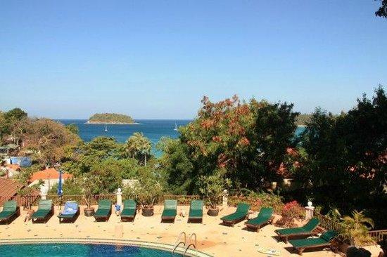 Chanalai Garden Resort : Вид из номера