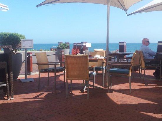 Radisson Blu Hotel Waterfront, Cape Town : Blick von der Frühstücksterrasse