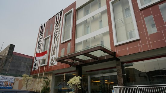 Hotel Dafam Fortuna Malioboro: Outlook