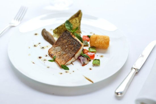 The Square: Filet of Adriatic sea bass