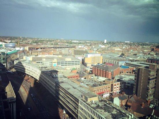 Radisson Blu Hotel, Birmingham: View from the 17th floor!