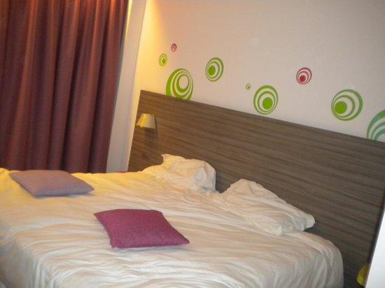 Mercure Venezia Marghera hotel: stanza,bella ,colori vivi che fa star bene