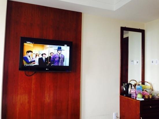 Grand Mango Hotel Danang: tv