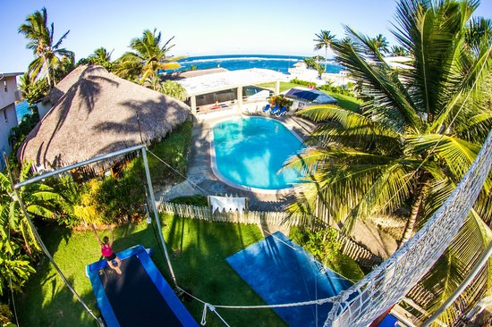 eXtreme Hotel pool, Rogue Fitness gym, Mojito Bar, Half pipe & Kite Beach