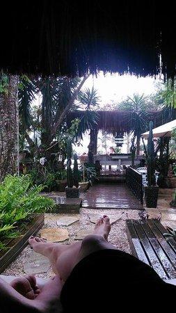 Aquabarra Boutique Hotel & Spa: si te toca un dia de lluvia feo .. este lugar es especial para seguir pasandola fabuloso !