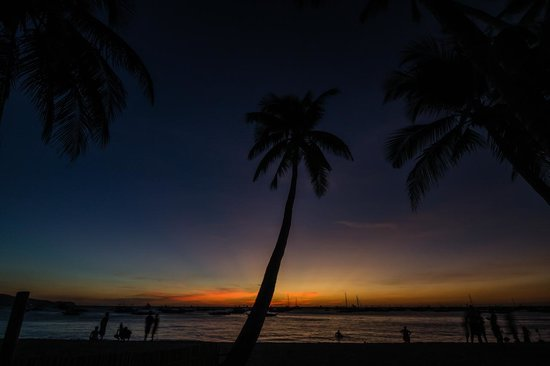 The Greenhouse (Boracay Beach House): End of day