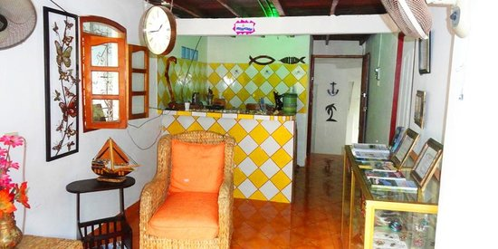 Hotel Posada Bahia Azul: Area de recepcion