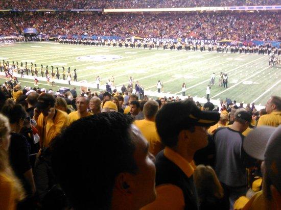 Georgia Dome: 2013 SEC Championship