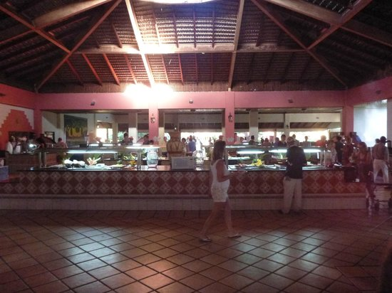 Caribe Club Princess Beach Resort & Spa: Buffet