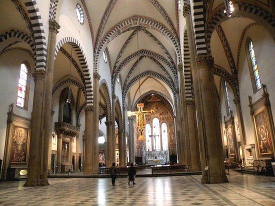 Church of Santa Maria Novella: Interior